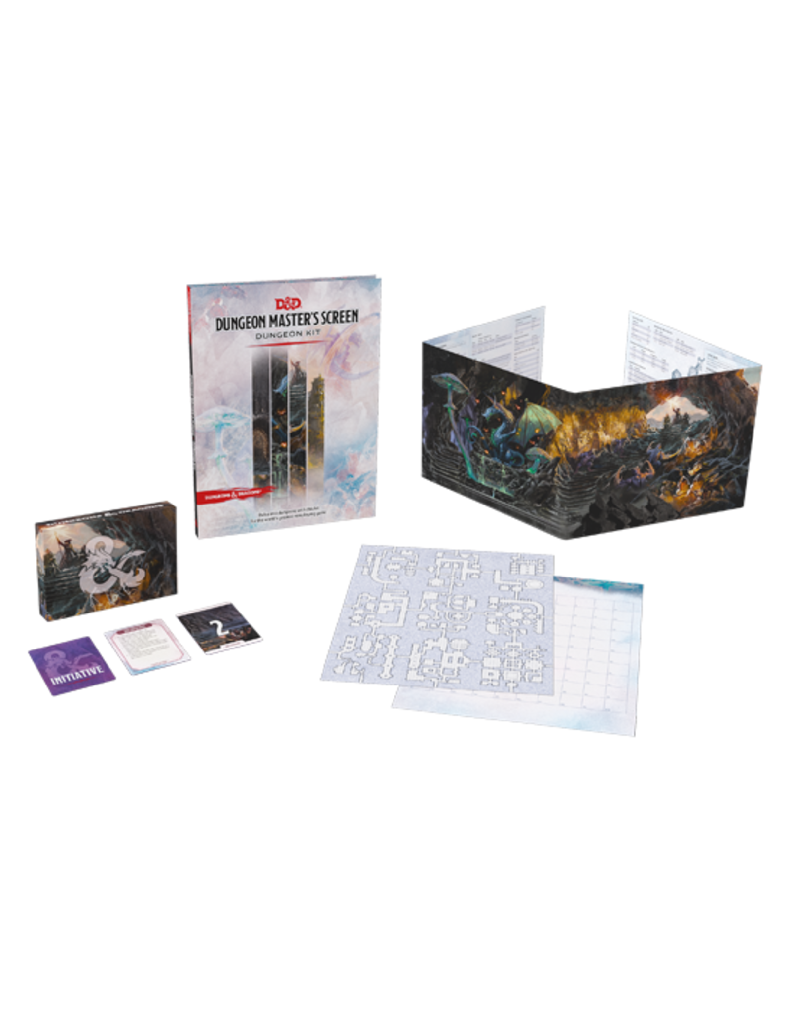 Dungeons & Dragons Dungeons & Dragons: 5th Edition - Dungeon Master's Screen - Dungeon Kit