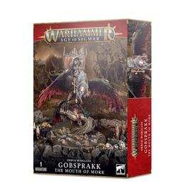 Games Workshop Warhammer: Age of Sigmar - Orruk Warclans - Gobsprakk, the Mouth of Mork