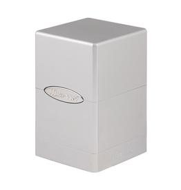 Ultra Pro Ultra Pro: Deck Box - Satin Tower - Metallic - Silver