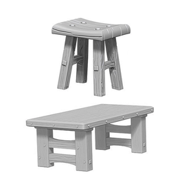 WizKids WizKids: Deep Cuts - Wooden Table & Stools