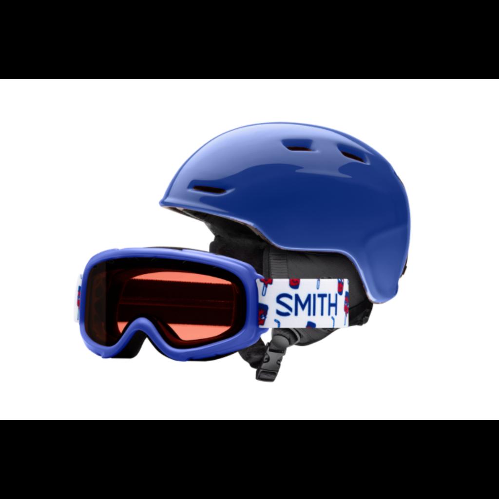 SMITH SNOW SMITH ZOOM JR HELMET/GOGGLE COMBO