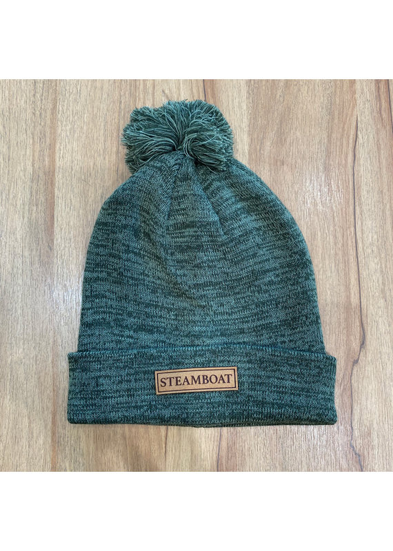 LOCALE OUTDOOR TREAVERSE REMOVABLE POM BEANIE OLIVE