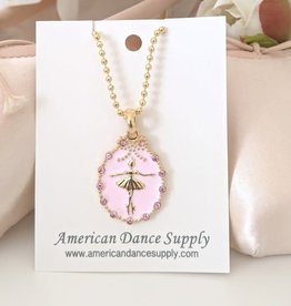 American Dance Supply COLLIER PETIT OVALE