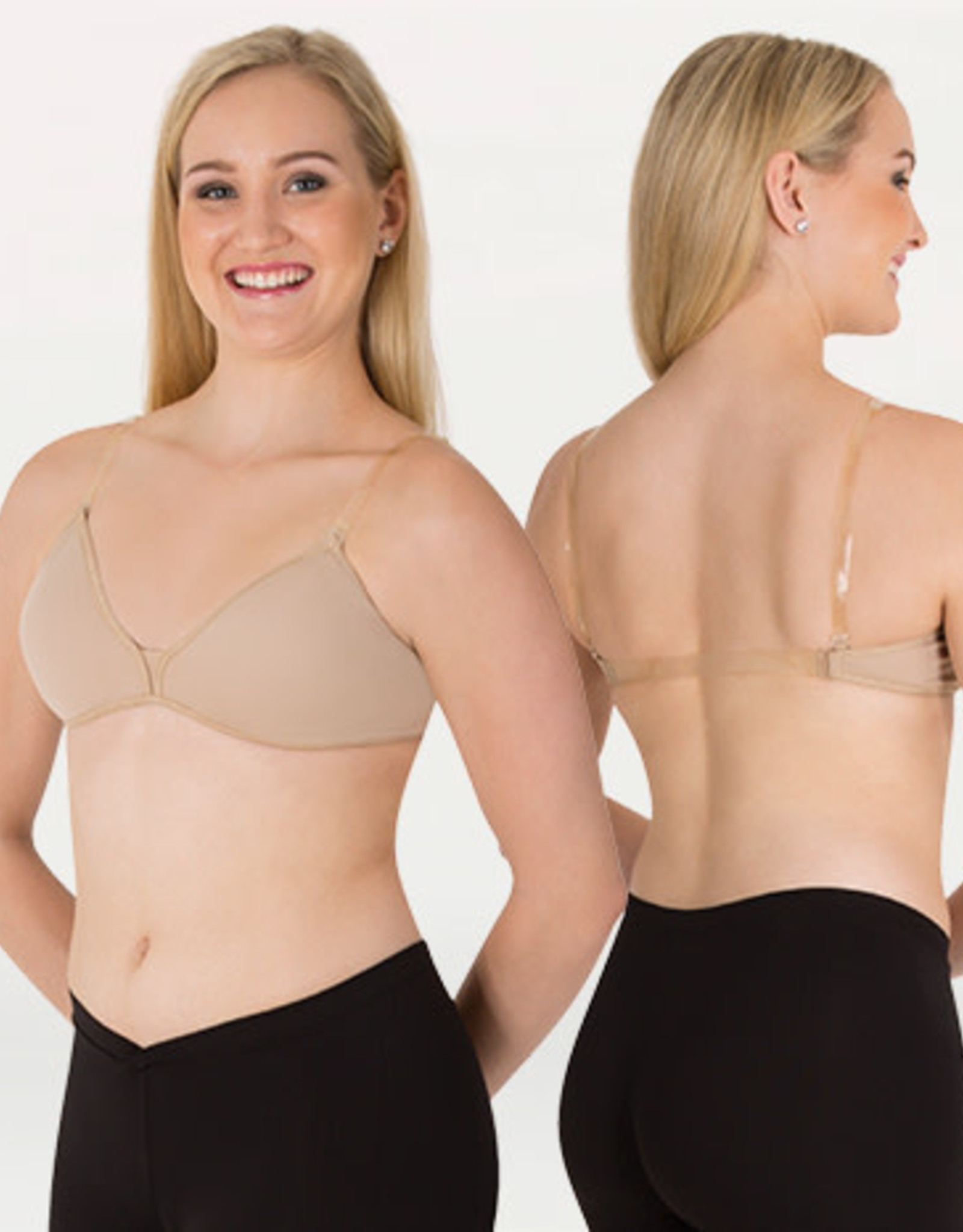 Body Wrappers / Angelo Luzio SOUTIEN-GORGE TRIANGLE AVEC PAD