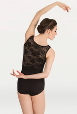 Body Wrappers / Angelo Luzio MAILLOT DENTELLE AU DOS AD