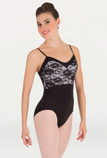 Body Wrappers / Angelo Luzio MAILLOT DENTELLE BLANCHE AD