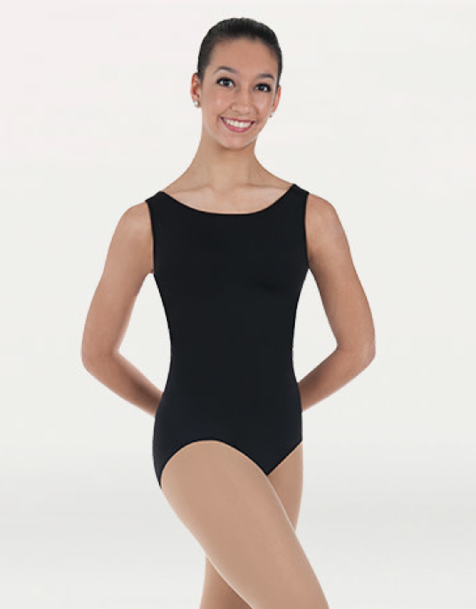 Body Wrappers / Angelo Luzio MAILLOT SIMPLE SANS MANCHES AD