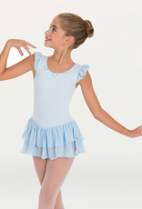 Body Wrappers / Angelo Luzio MAILLOT MANCHES EN FROUFROU JR