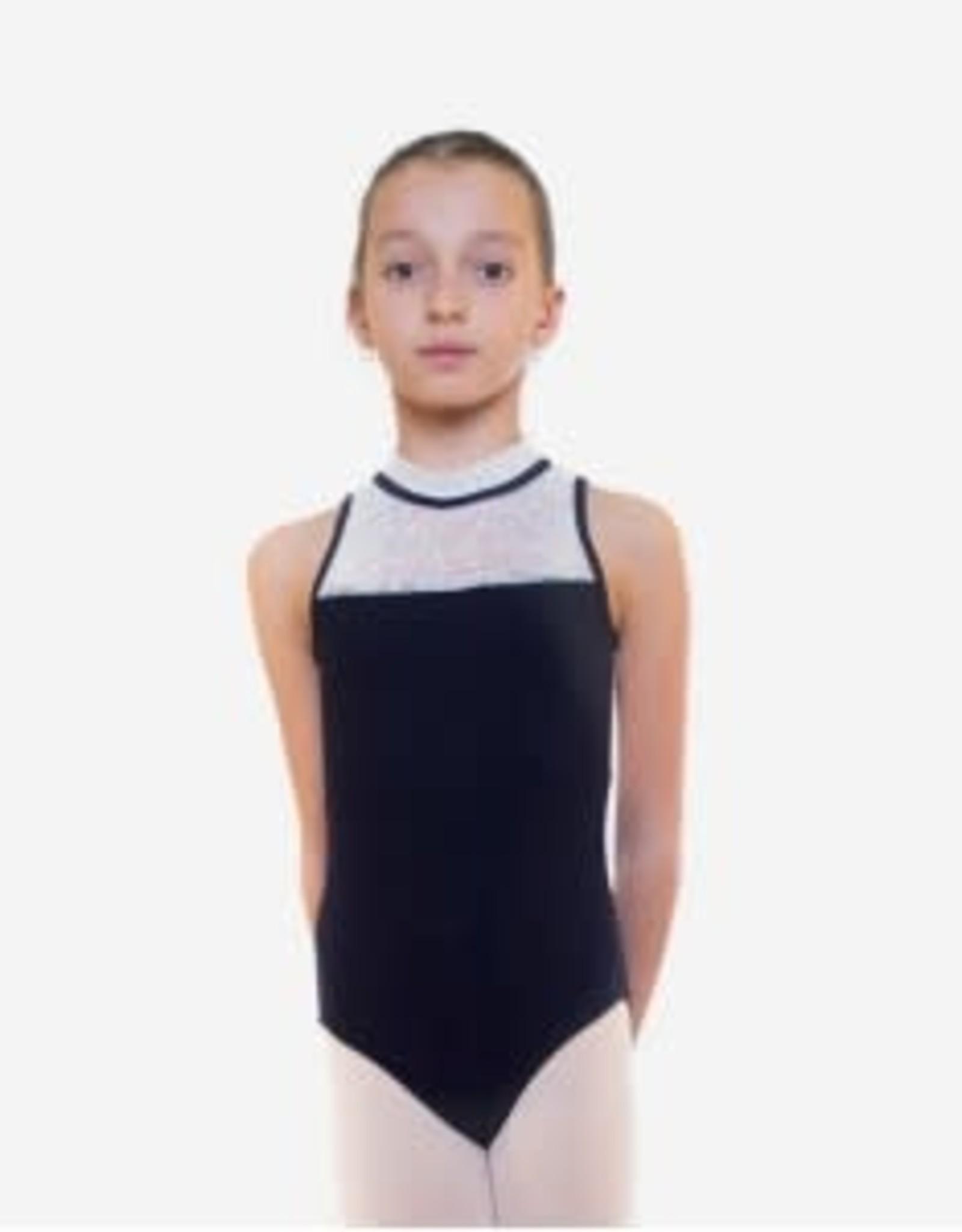 Radadancewear Sansha MAILLOT NOIR/BLANC JR