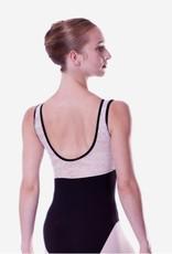 Radadancewear Sansha MAILLOT DENTELLE NOIR/BLANC AD