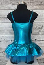 Costume Robe Bleu Métalique (IC 7-8)