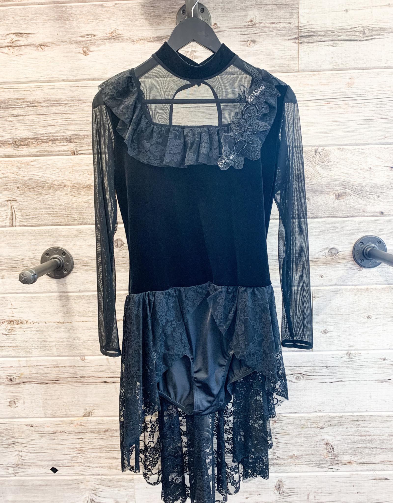 Costume Noir Dentelle (Xlarge)