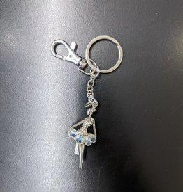 Porte-clés ballerine blanc
