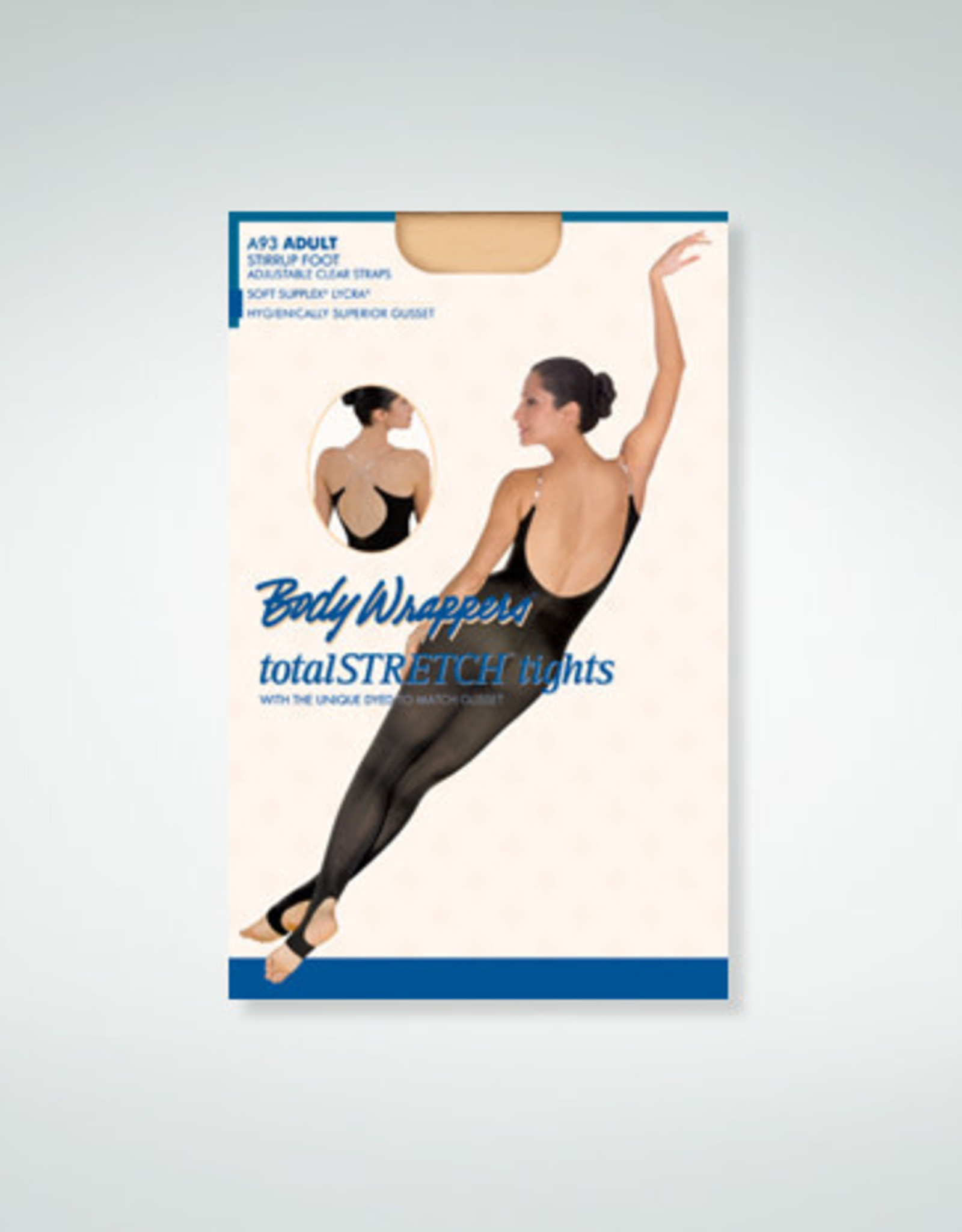 Body Wrappers / Angelo Luzio COLLANT CORPS PIEDS ÉTRIER JR BW