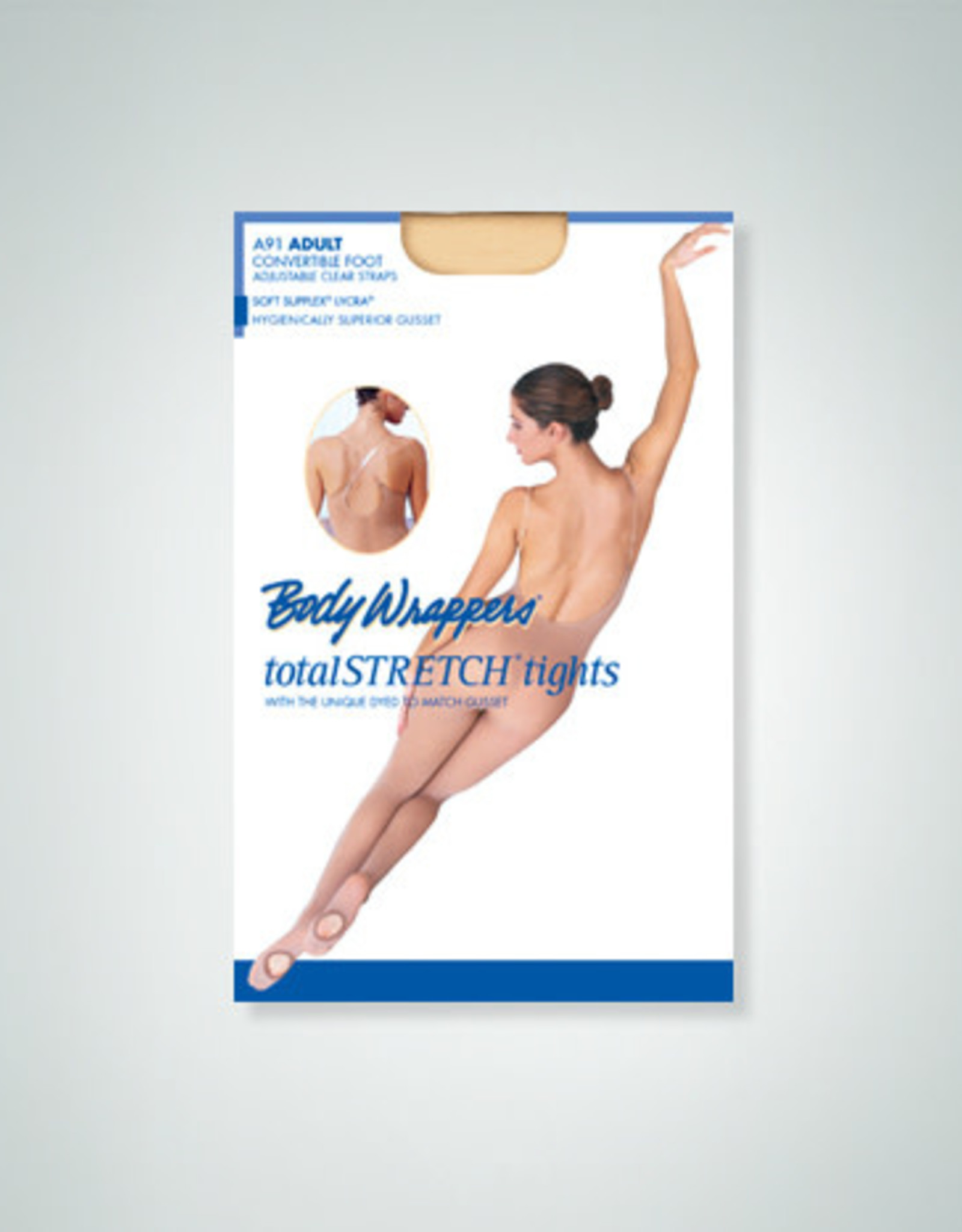 Body Wrappers / Angelo Luzio COLLANT CORPS PIEDS AMOVIBLE AD BW