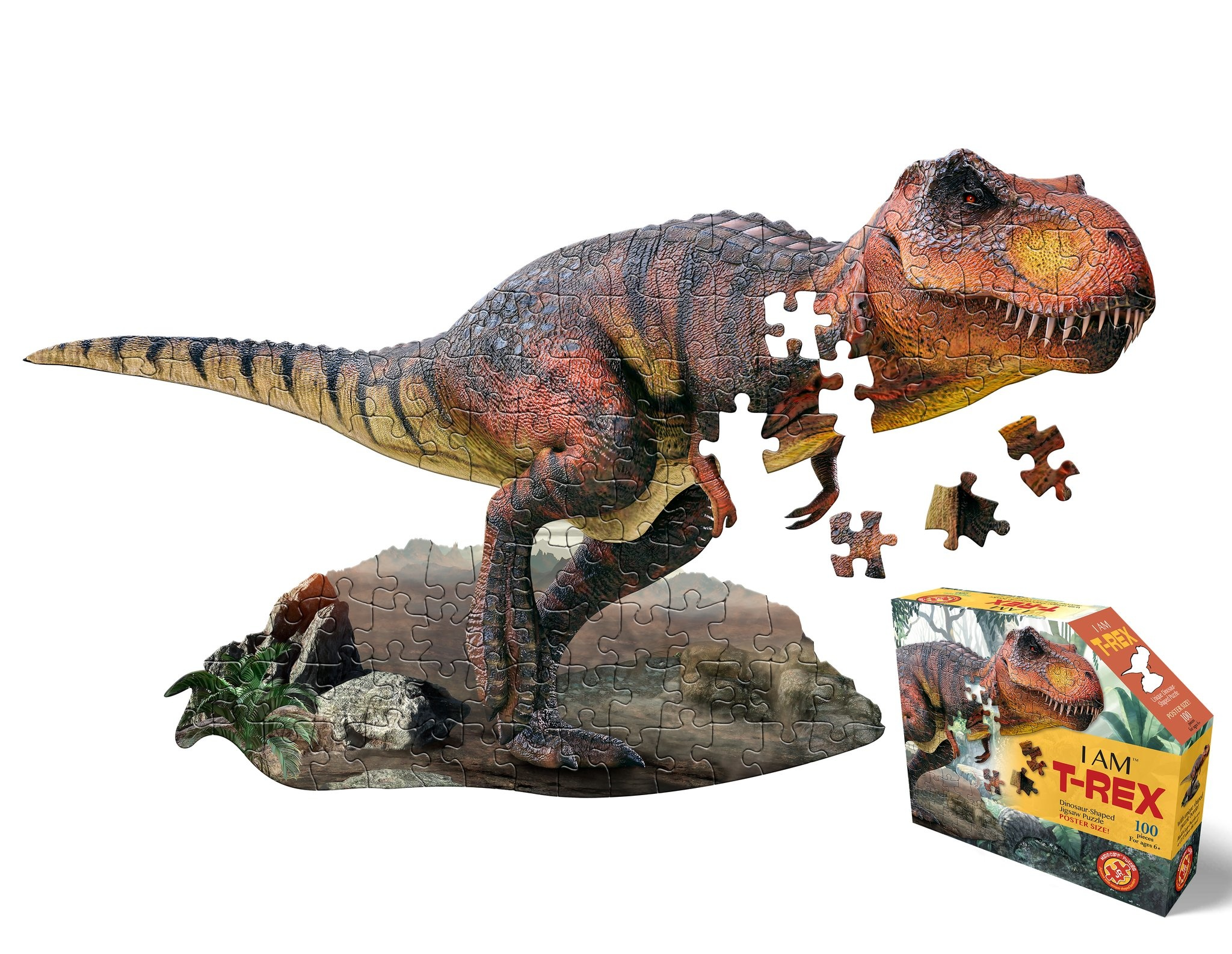 I Am T.Rex 100 pc