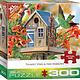 Trumpet Vines & Tree Sparrows 300 pc