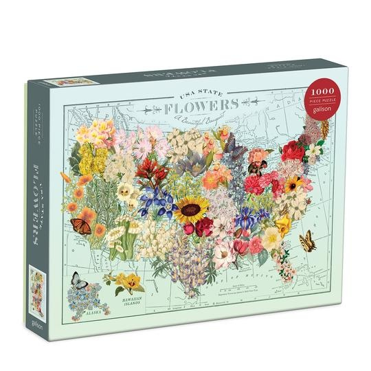 USA State Flowers 1000pc
