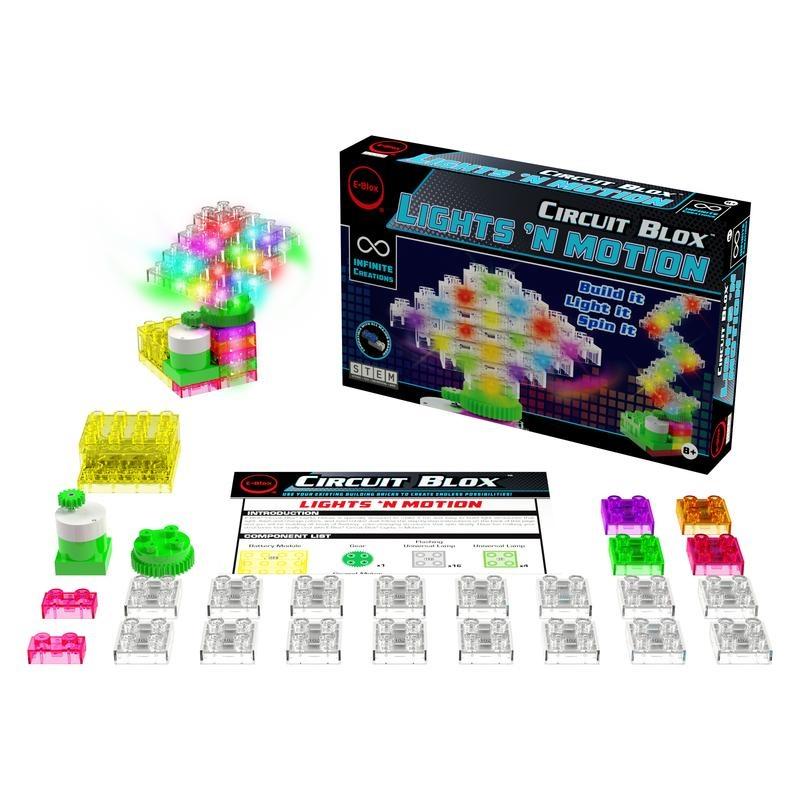 EBlox Circuit Blox Lights n Motion
