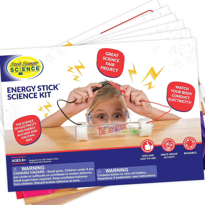 Steve Spangler Energy Stick Science Kit