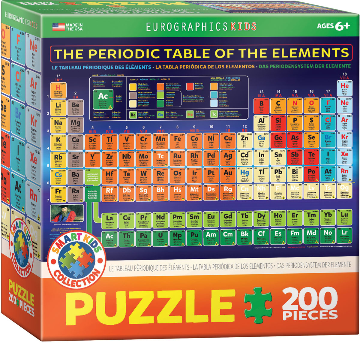 EuroGraphics Periodic Table of the Elements 200 pc