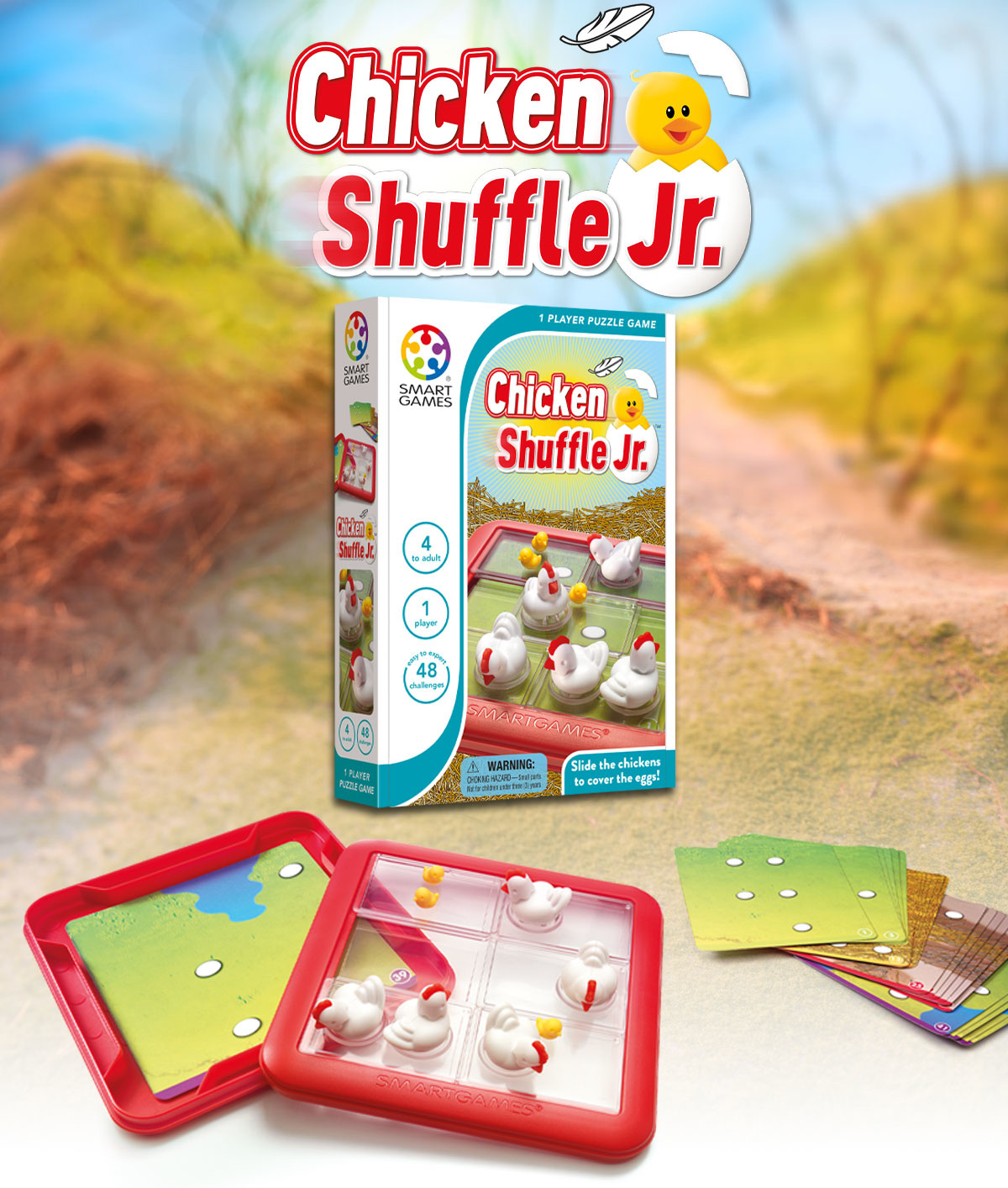 Smart Max Chicken Shuffle Jr. Smart Games