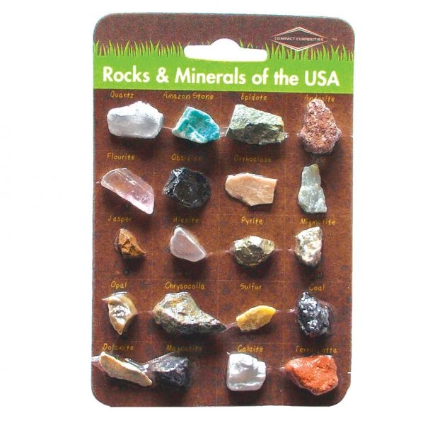 Copernicus Toys Rocks and Minerals of the USA