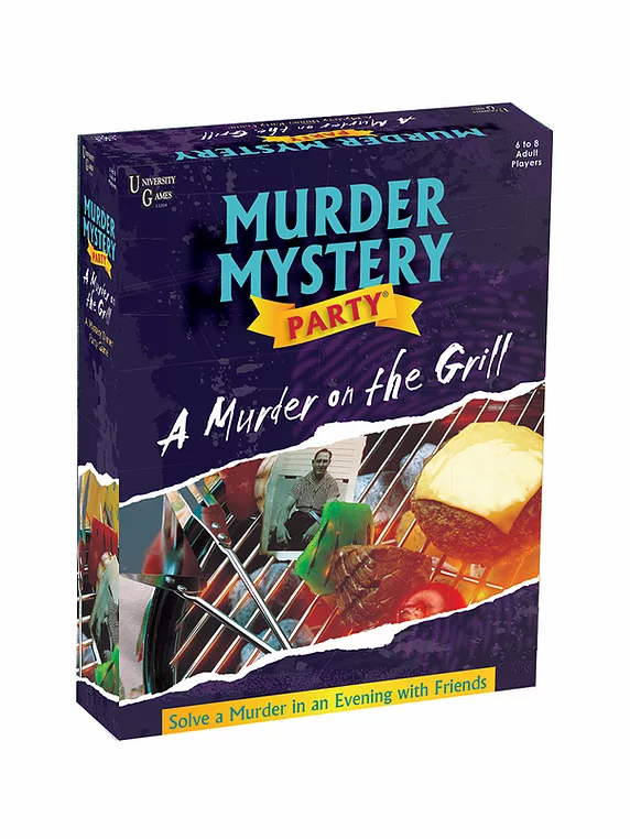 University Games Murder Mystery A Murder On the Grill