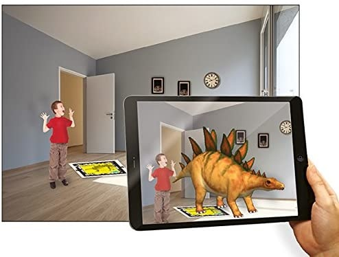 Stegosaurus Dinosaur DNA AR Wonder