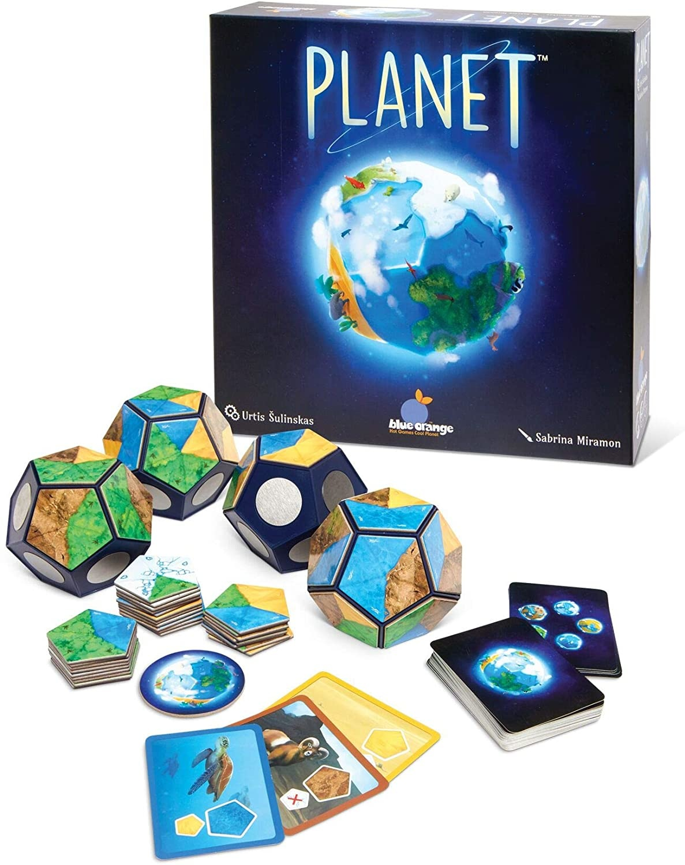 Blue Orange Planet