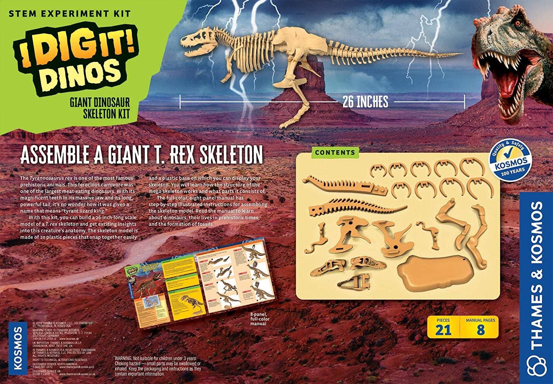 Thames and Kosmos Giant Dinosaur Skeleton
