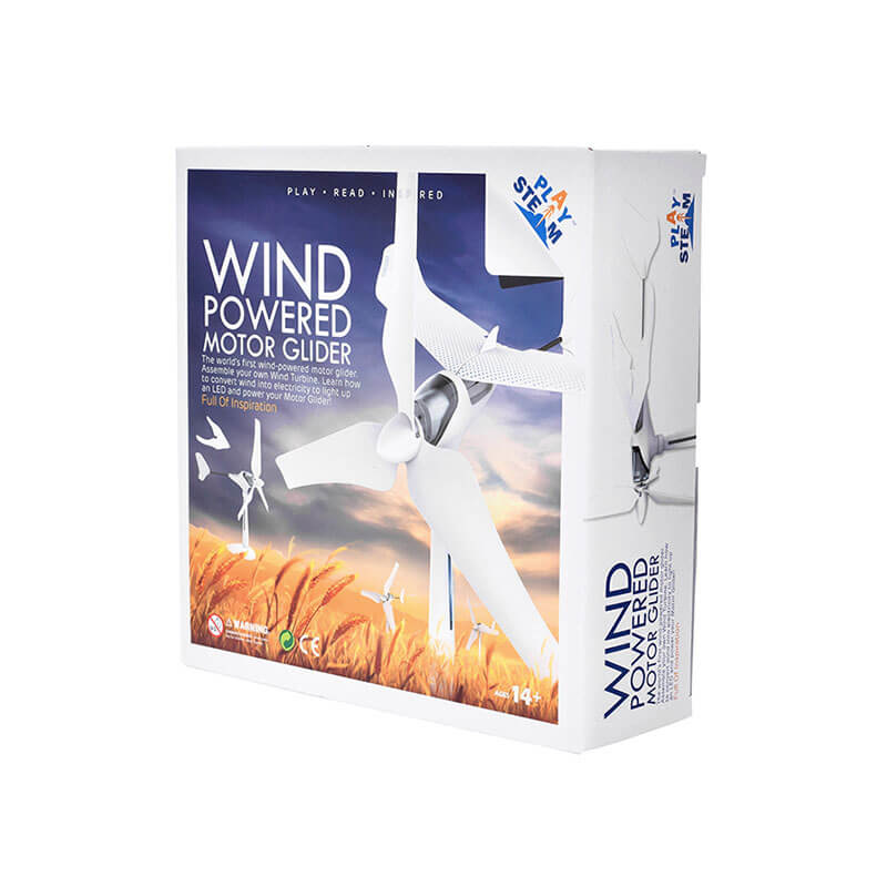 Wind powered motor glider