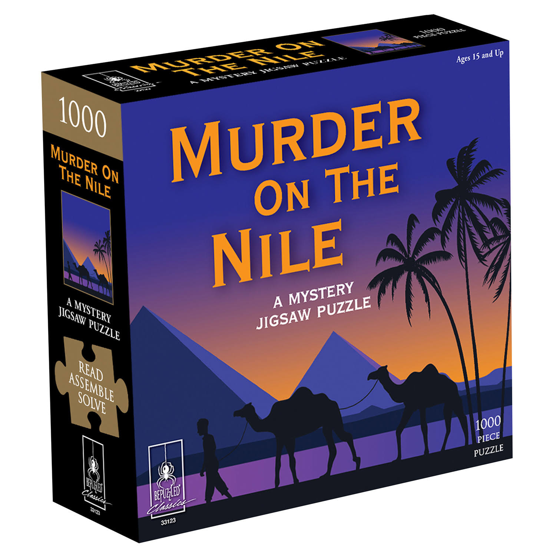 University Games Murder On The Nile