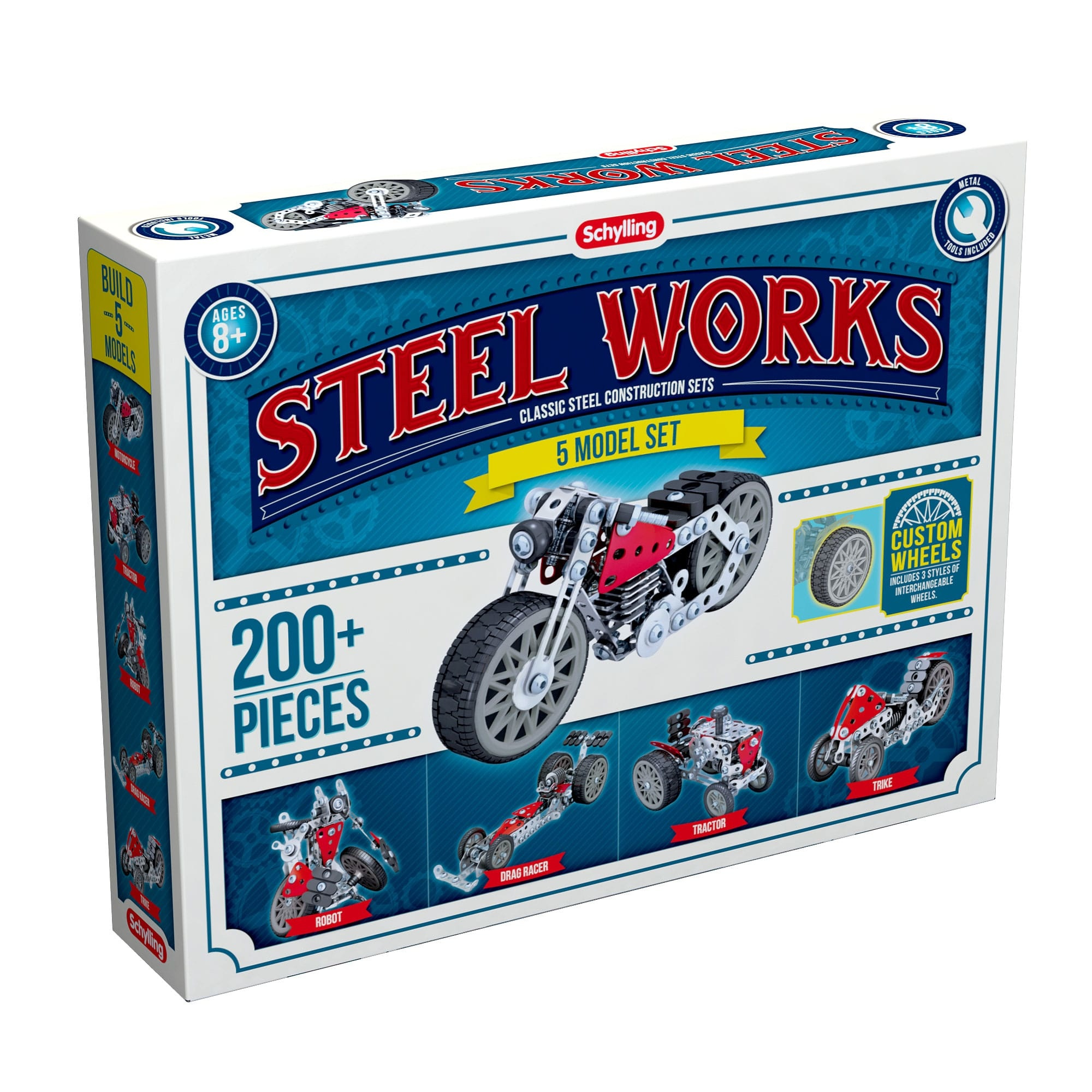 Steel works model set