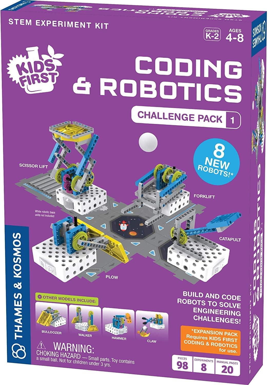 Thames and Kosmos Coding & Robotics Challenge Pack 1