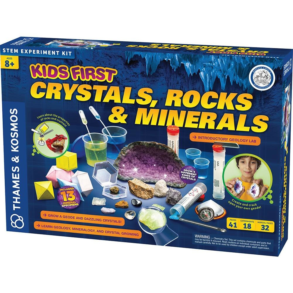 Kids First Crystals, Rocks, Minerals