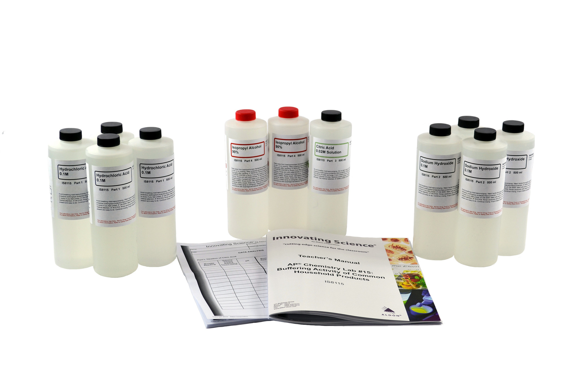 Aldon IS8115 AP® CHEMISTRY LAB #15: BUFFERING ACTIVITY OF COMMON HOUSEHOLD PRODUCTS