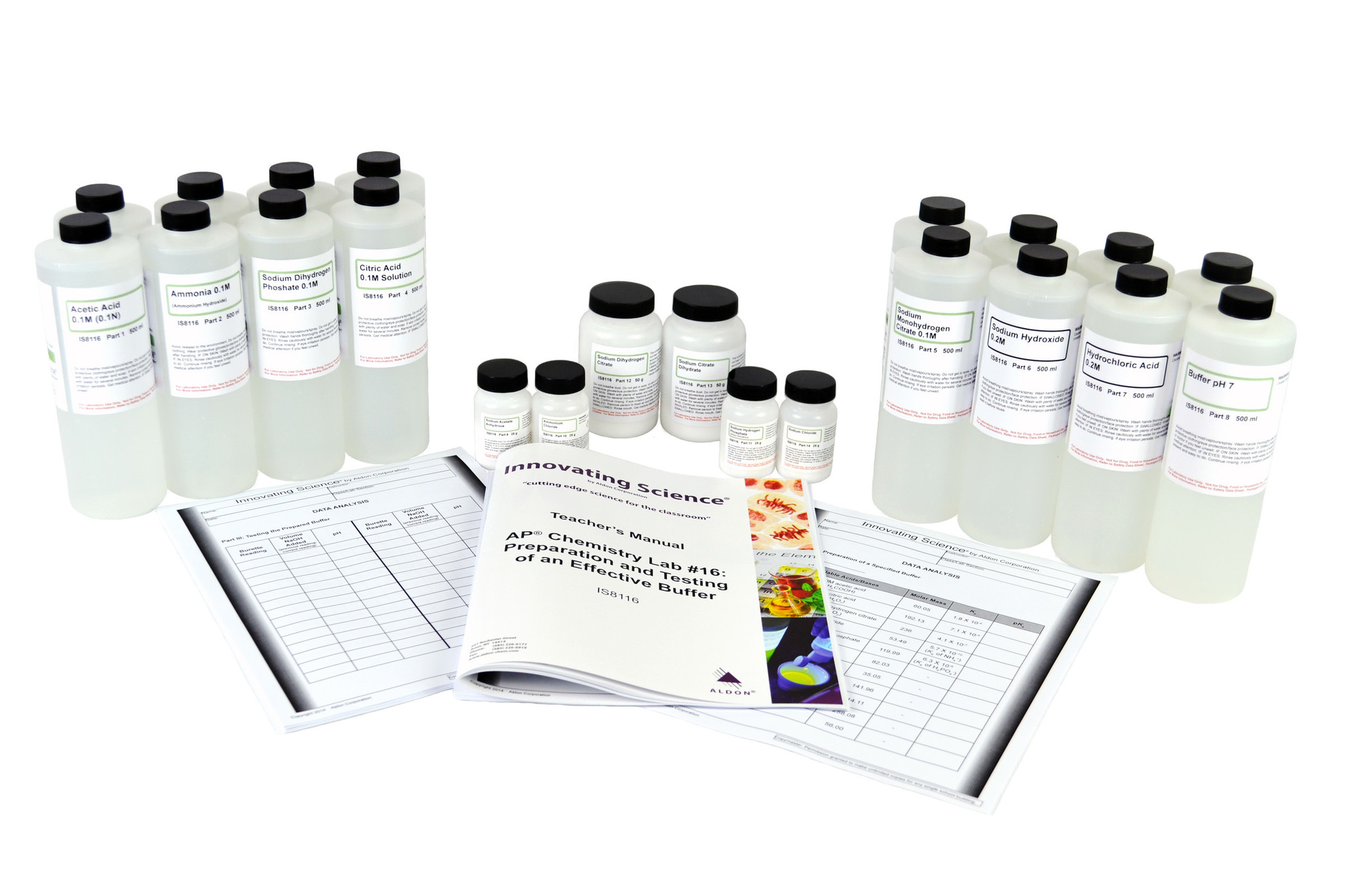 Aldon IS8116 AP® CHEMISTRY LAB #16: PREPARATION OF EFFECTIVE BUFFERS