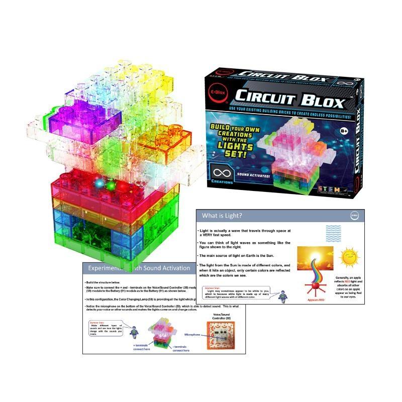 EBlox Circuit Blox™ Lights Student Set