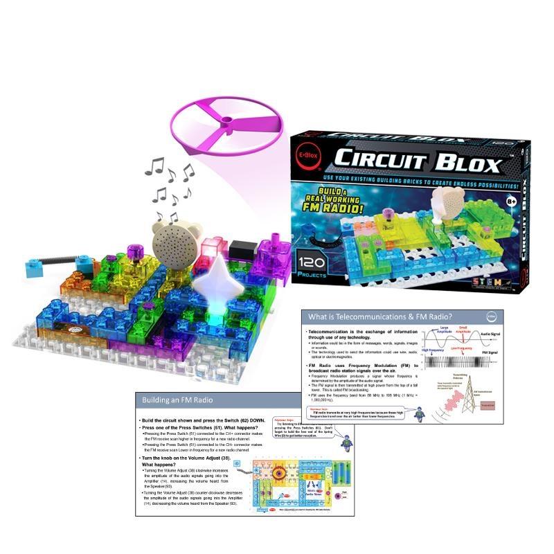 EBlox Circuit Blox™ 120 Project Student Se