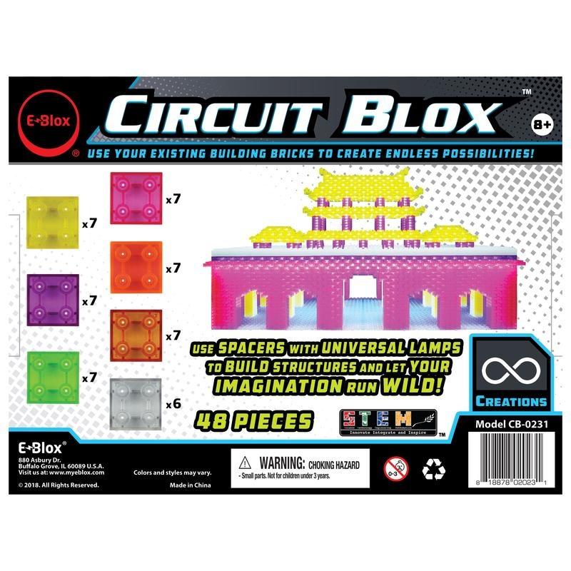 EBlox Circuit Blox™ Lights 48 Piece Spacer Add-on Set