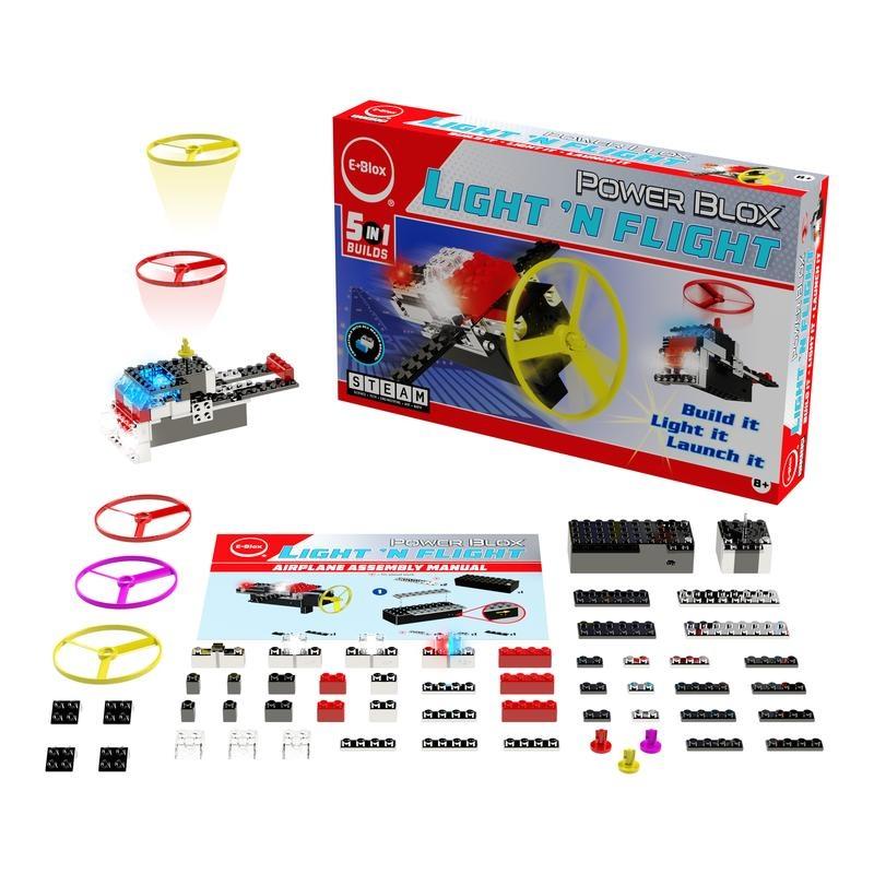 Power Blox™ Light 'N Flight 5-in-1 Set