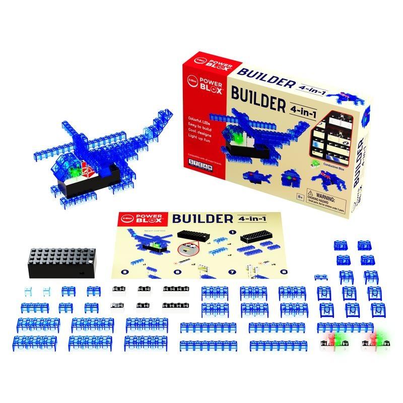 EBlox Power Blox™ Builder 4-in-1