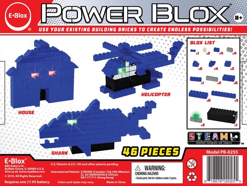 EBlox Power Blox™ Builds Basic Set
