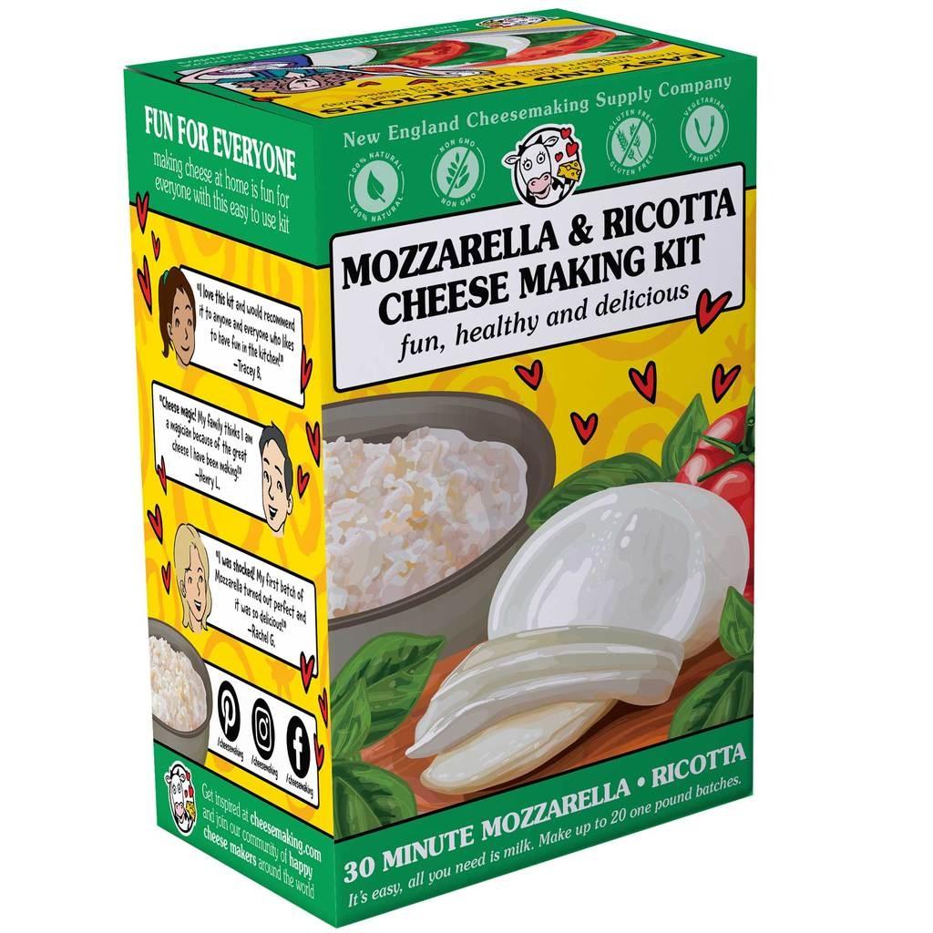 Mozzarella & Ricotta Cheese Making Kit