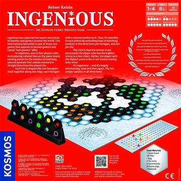 Thames and Kosmos Ingenious, The Ultimate Family Strategy Game