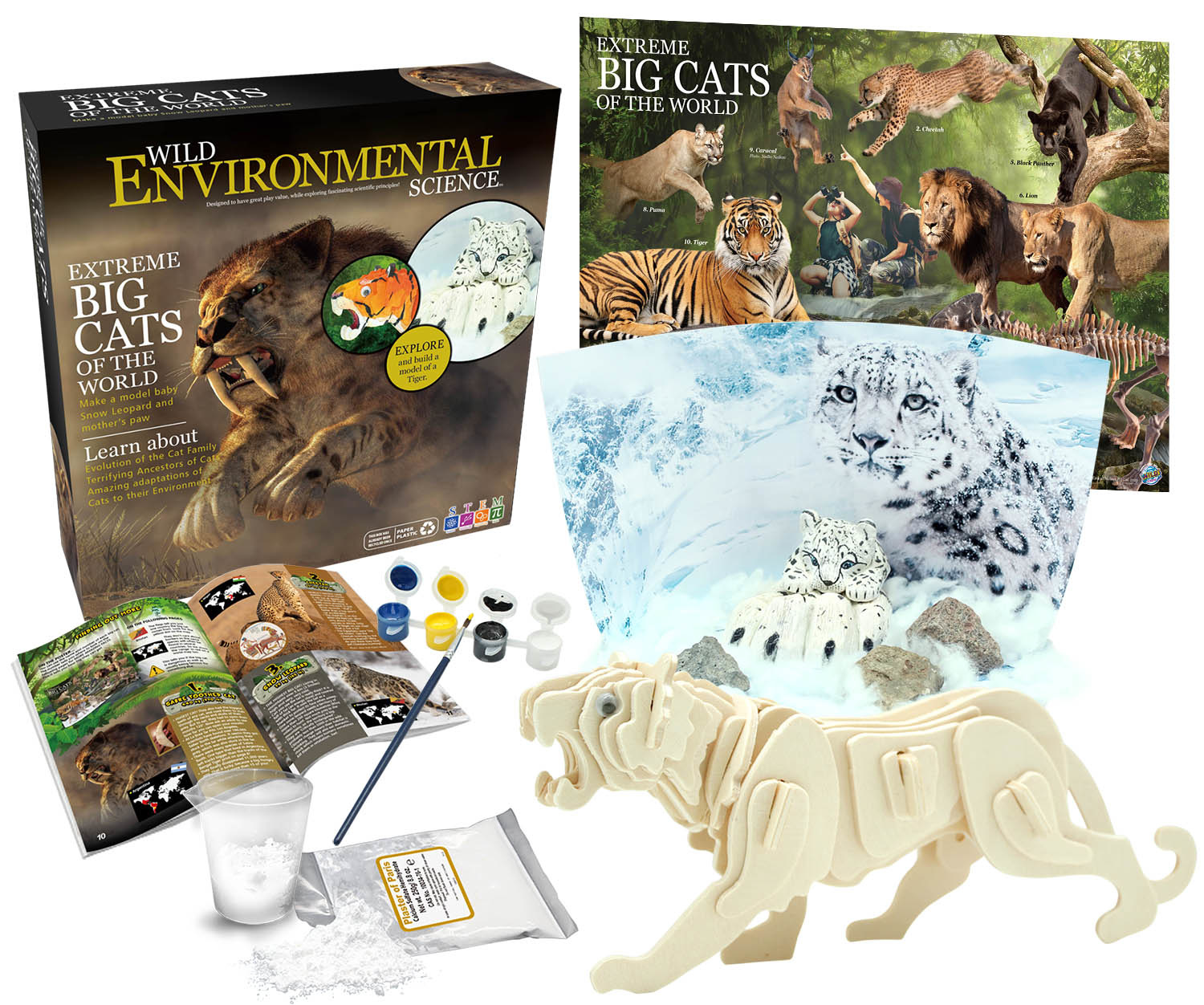 Wild Science Extreme Big Cats Of The World