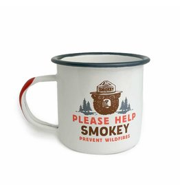Landmark Please Help Smokey Enamel Mug