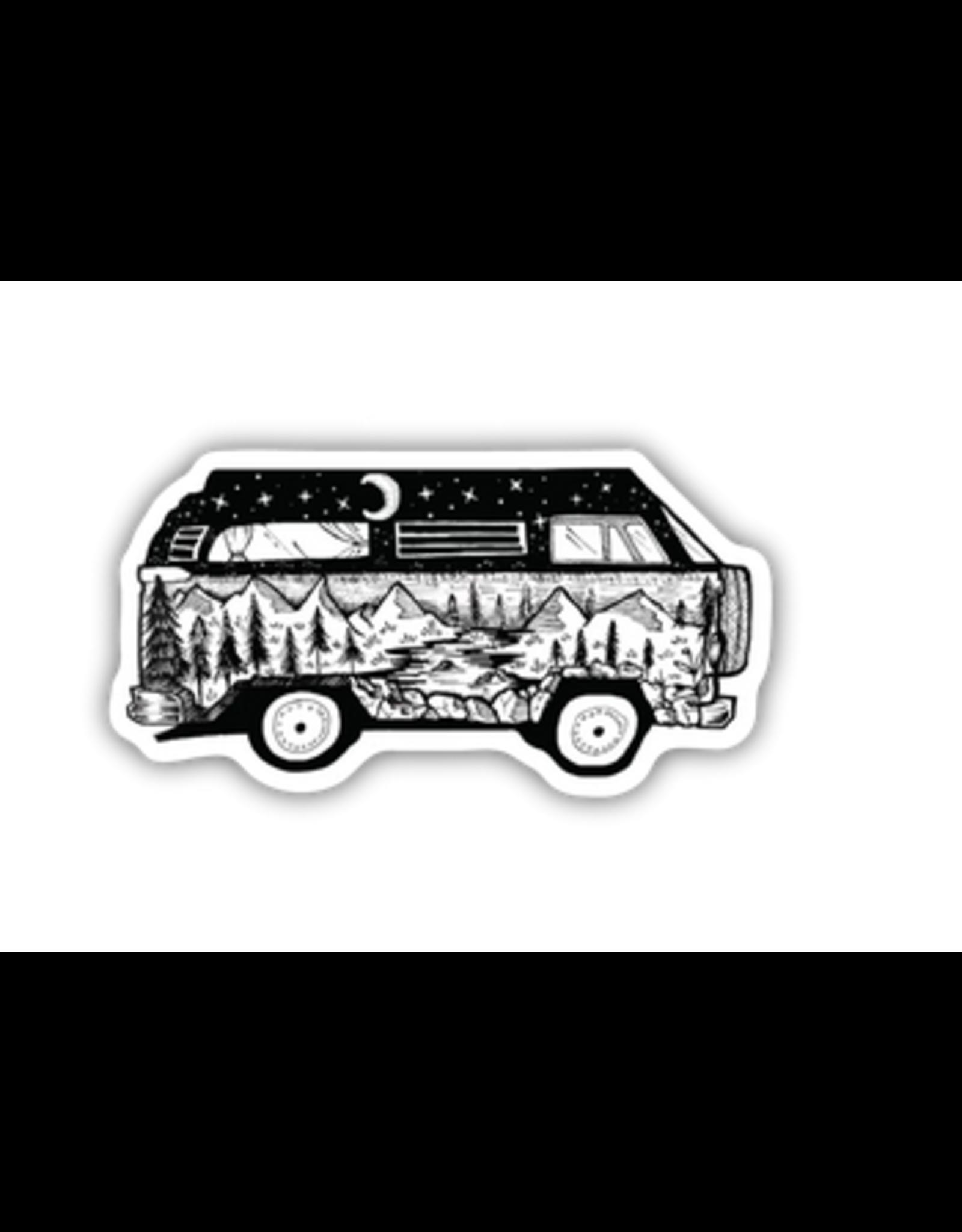Stickers Northwest Bus Scene