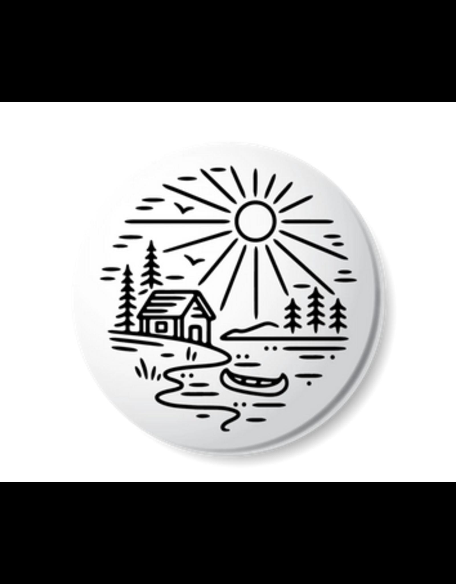 Stickers Northwest Cabin Lake